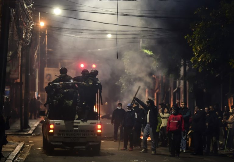 BOLIVIA-CRISIS-PROTEST-POLITICS