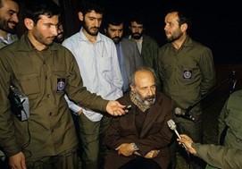 دستگیری نورالدین کیانوری رهبر حزب توده توسط نیروهای اطلاعات سپاه پاسداران