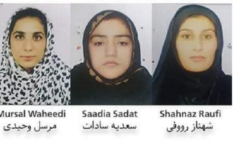 """سه کارمند تلویزیون """"انعکاس"""" که در حملۀ مسلحانه در شهر جلالآباد، مرکز ولایت ننگرهار جان باختند"""