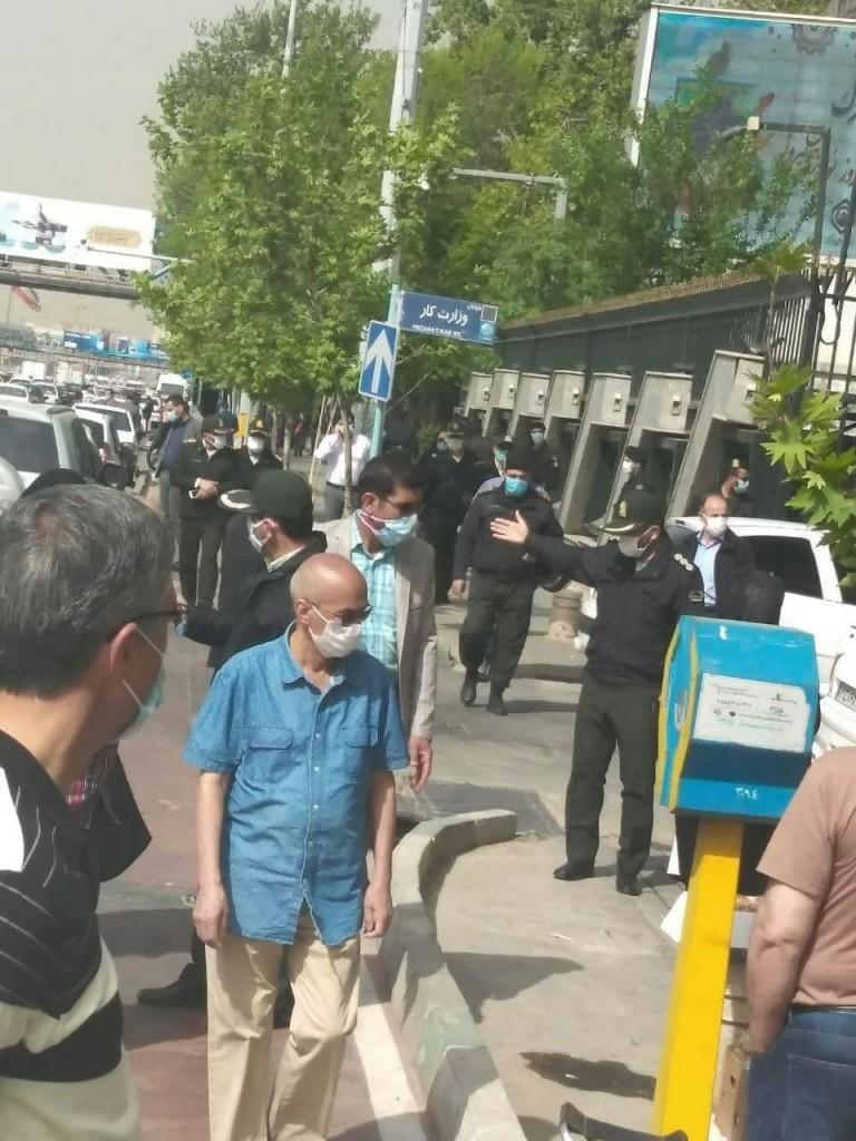 تهران مقابل تامین اجتماعی: تجمع بازنشستگان و مستمری بگیران تأمین اجتماعی